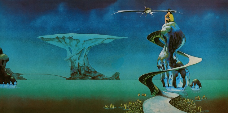 Roger Dean's album cover for Yessongs